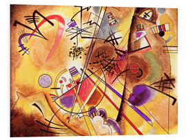 PVC-tavla  Small dream in red - Wassily Kandinsky