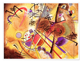 Premiumposter  Small dream in red - Wassily Kandinsky