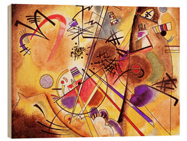 Trätavla  Small dream in red - Wassily Kandinsky