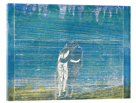 Akrylglastavla  In the Forest I - Edvard Munch