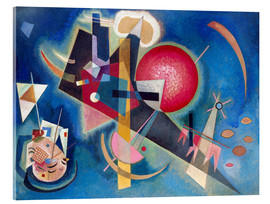 Akrylglastavla  In the blue - Wassily Kandinsky
