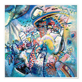 Premiumposter  Red Square - Wassily Kandinsky