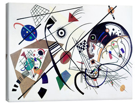 Canvastavla  Continuous line - Wassily Kandinsky