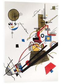 Akrylglastavla  Happy ascent - Wassily Kandinsky