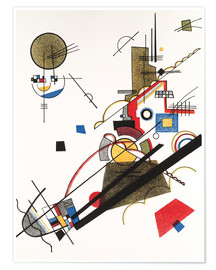 Premiumposter  Parallel Diagonals - Wassily Kandinsky