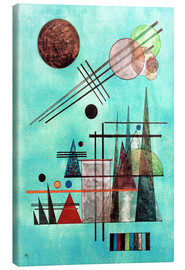 Canvastavla  Across and Up - Wassily Kandinsky