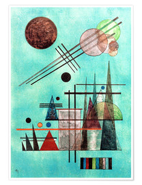Premiumposter  Across and Up - Wassily Kandinsky