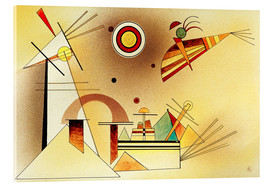 Akrylglastavla  Reduced weight - Wassily Kandinsky