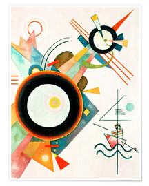 Poster  Arrowhead Picture - Wassily Kandinsky