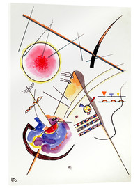 Akrylglastavla  Watercolor from the Hess Guest Book - Wassily Kandinsky
