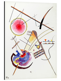 Aluminiumtavla  Watercolor from the Hess Guest Book - Wassily Kandinsky