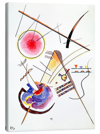 Canvastavla  Watercolor from the Hess Guest Book - Wassily Kandinsky