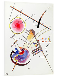 PVC-tavla  Watercolor from the Hess Guest Book - Wassily Kandinsky