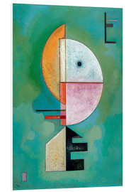 PVC-tavla  Upwards - Wassily Kandinsky