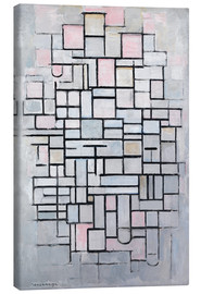 Canvastavla  Composition No. IV. - Piet Mondriaan