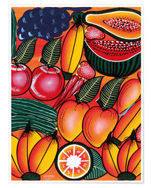 Premiumposter  Exotic Fruits All kinds of - Chilambo
