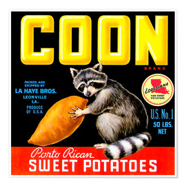 Premiumposter  Coon - Advertising Collection