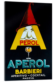 Akrylglastavla  Aperol Barbieri - Advertising Collection