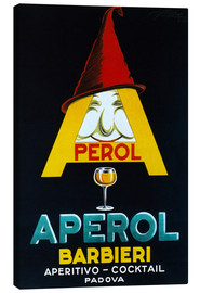 Canvastavla  Aperol Barbieri - Advertising Collection