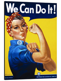 Aluminiumtavla  We Can Do It! - Advertising Collection