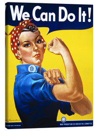 Canvastavla  We Can Do It! - Advertising Collection