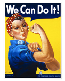 Premiumposter  We Can Do It! - Advertising Collection