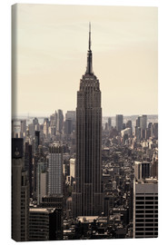 Canvastavla  Empire State Building Vintage - Buellom