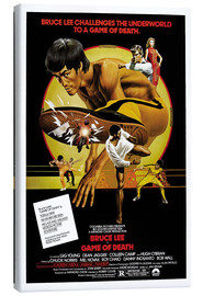 Canvastavla  Game of Death - Entertainment Collection