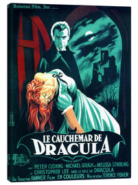 Canvastavla  I Draculas klor - Entertainment Collection