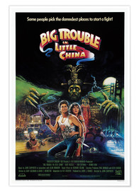 Premiumposter  Big Trouble in Little China - Entertainment Collection