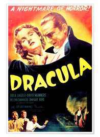Premiumposter  Mysteriet Dracula - Entertainment Collection