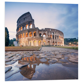 PVC-tavla  Colosseum reflected into water - Matteo Colombo