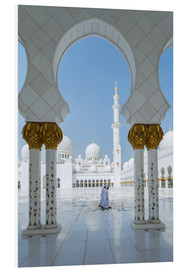 PVC-tavla  Sheik Zayed Grand Mosque, Adu Dhabi, Emirates - Matteo Colombo