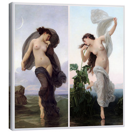 Canvastavla  Twilight & Aurora - William Adolphe Bouguereau