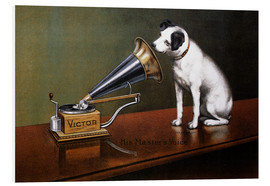 PVC-tavla  His Master's Voice - François Barraud