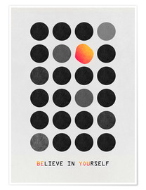 Premiumposter  Be You - Elisabeth Fredriksson