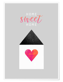 Poster  Home Sweet Home - Elisabeth Fredriksson
