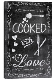 Canvastavla  Cooked with Love - Andrea Haase