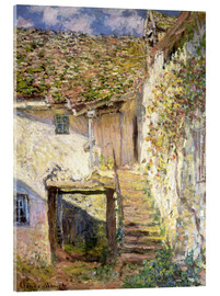 Akrylglastavla  The staircase - Claude Monet