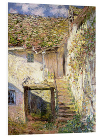 PVC-tavla  The staircase - Claude Monet