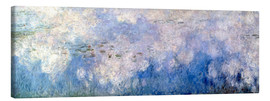 Canvastavla  Waterlilies, panel B II. - Claude Monet