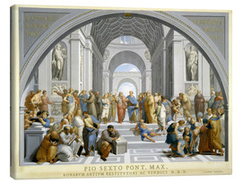 Canvastavla  School of Athens (after Raphael) to 1771-79 - Giovanni Volpato