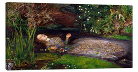 Canvastavla  Ophelia - Sir John Everett Millais