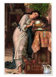 Premiumposter  Isabella and the Pot of Basil - William Holman Hunt