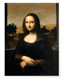 Premiumposter The Isleworth Mona Lisa