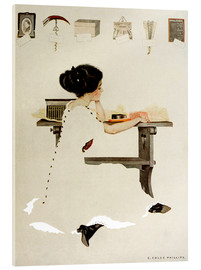 Akrylglastavla  Know all men by these presents - Clarence Coles Phillips