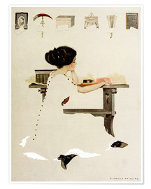 Premiumposter  Know all men by these presents - Clarence Coles Phillips