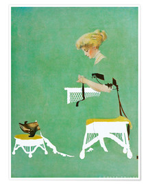 Premiumposter  Home ties - Clarence Coles Phillips