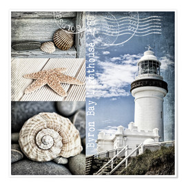 Premiumposter  Byron Bay Lighthouse - Andrea Haase