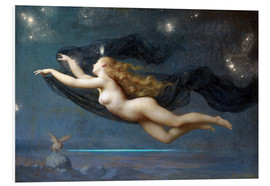 PVC-tavla  The Night - Auguste Raynaud